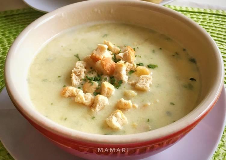 Sup krim ayam mamari