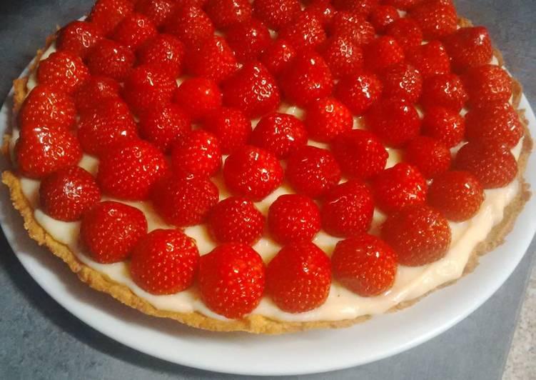Recette Des Tarte aux fraises