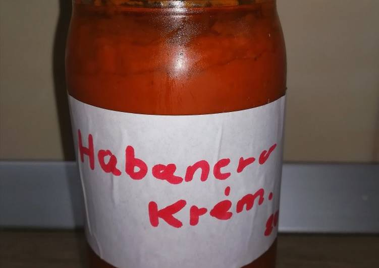 habanero recept