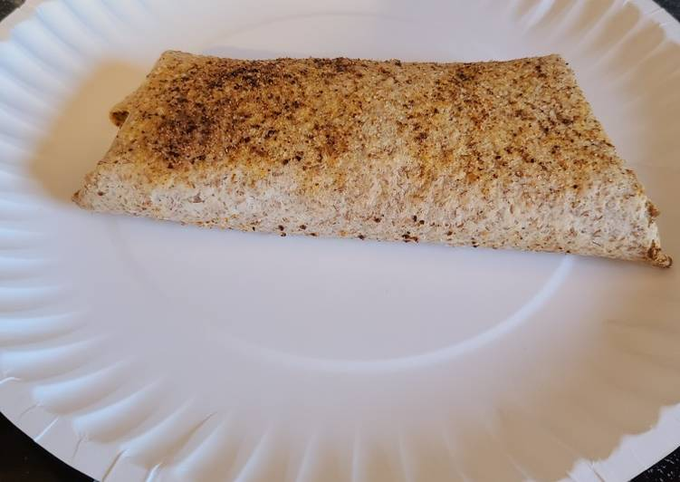 How to Prepare Ultimate My daughters air fried cheesy crispy tortilla wrap