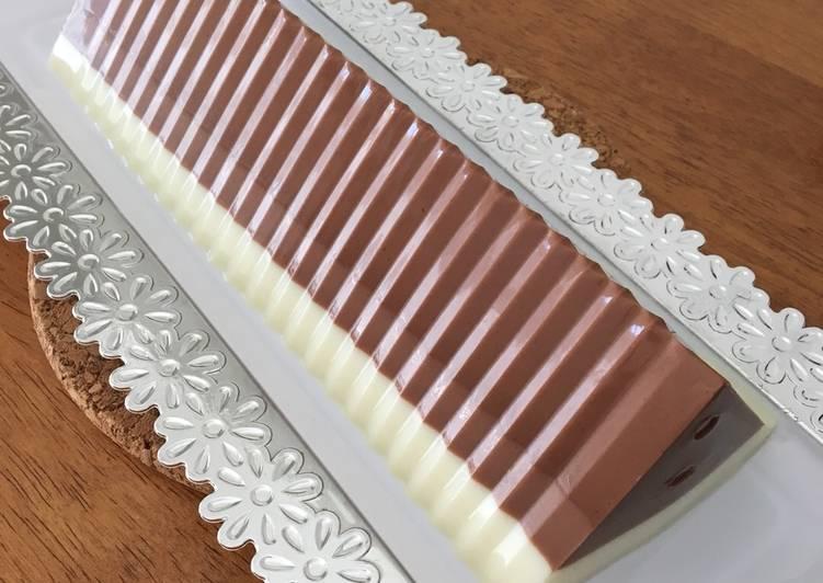 Pudding Coklat 3 Lapis