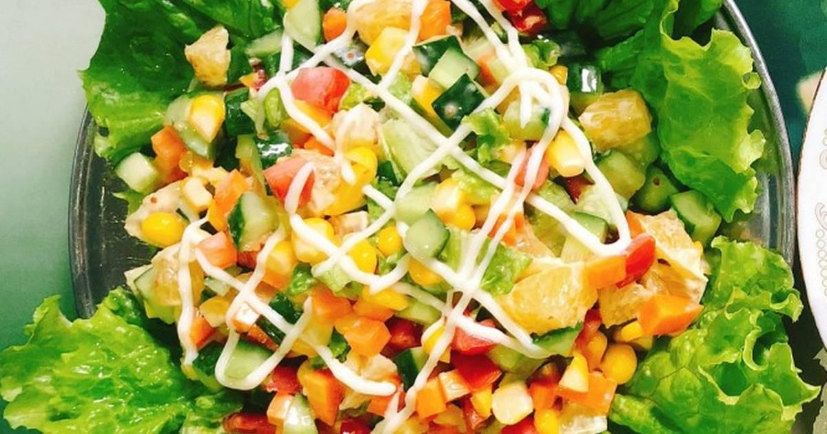 Cách Làm Món Salad rau củ quả của Hang Pham - Cookpad