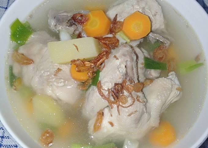 Sop Ayam Bening Seger