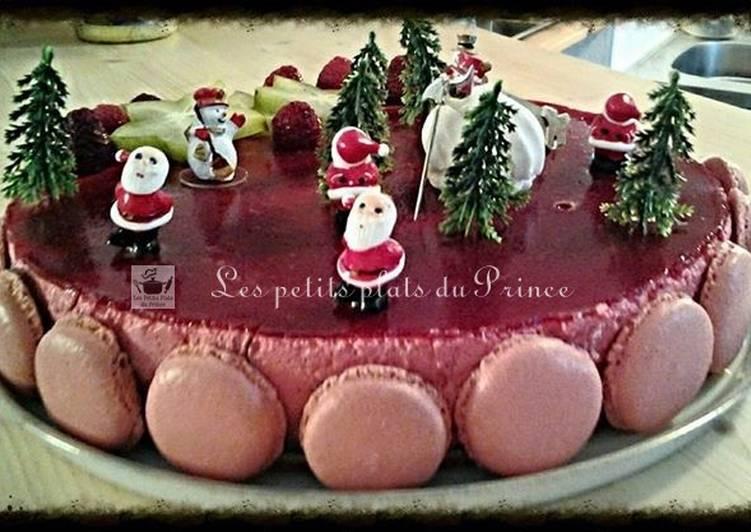 Bavarois de Noël aux fruits rouges