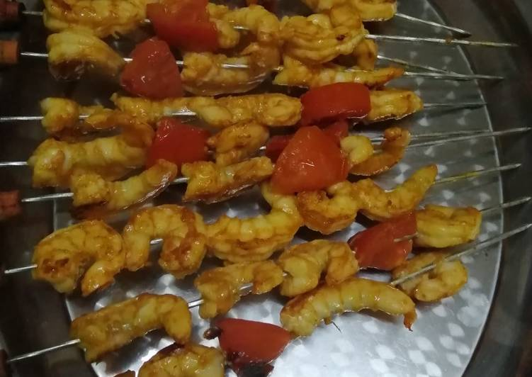 Easiest Way to Prepare Favorite Grilled prawns :A delicacy for sea food lovers