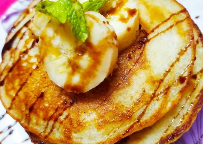 Easiest Way to Make Tasty बनाना पैन केक (Banana Pan Cake Recipe In Gujarati)