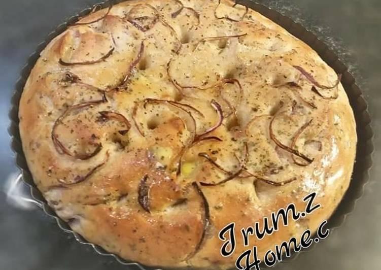 Recipe of Speedy 🍔🍞Focaccia Italian Bread🍞🍔