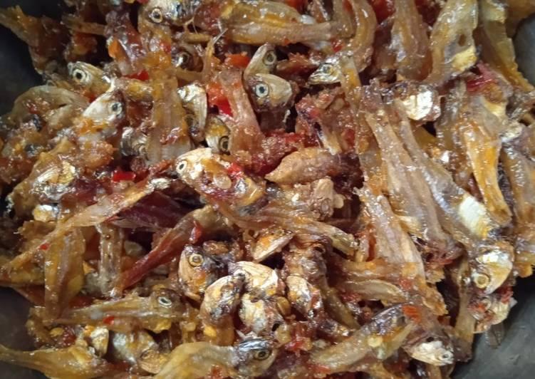 Ikan Teri Tawar Balado