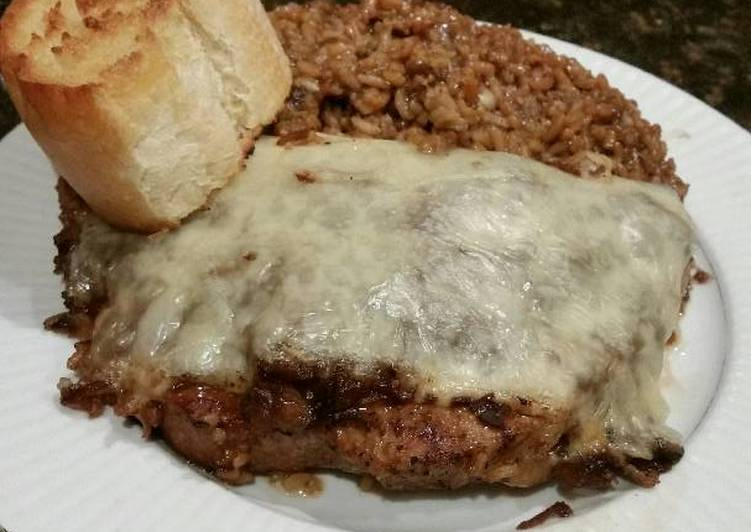 Easiest Way to Cook Perfect Brad's french onion pork chop bake