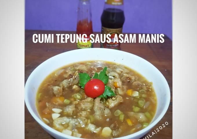 Cumi Tepung Saus Asam Manis - projectfootsteps.org