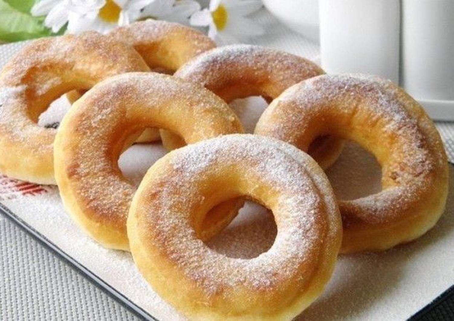 пончики на кефире рецепт с фото пышные описаниям