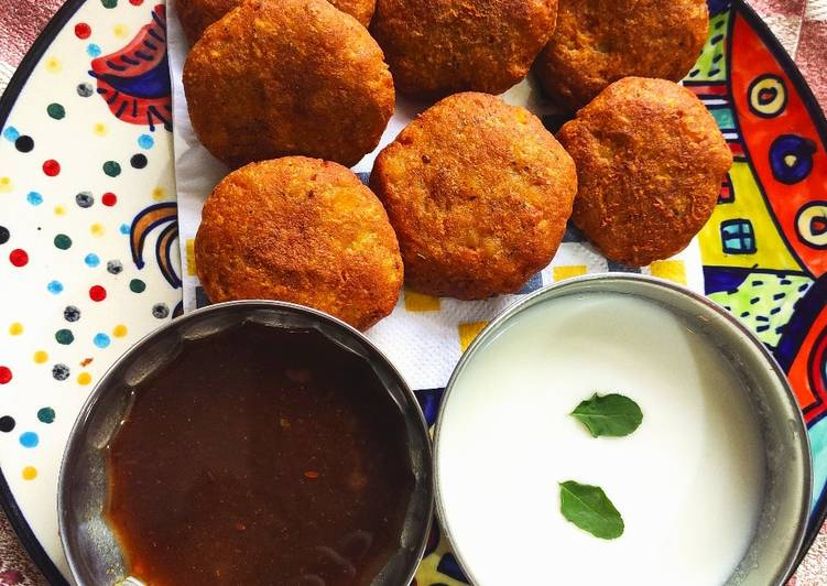 Recipe of Homemade Buckwheat Potato Patties