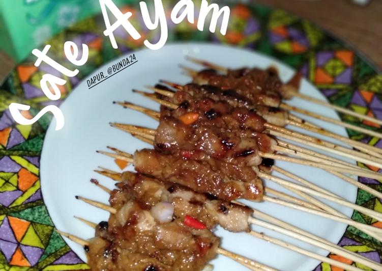 Sate Ayam Simple - cookandrecipe.com