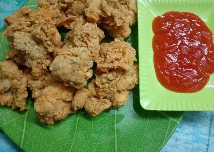 Bagaimana Memasak Resep Lezat Dari Ayam goreng kriuk gurih