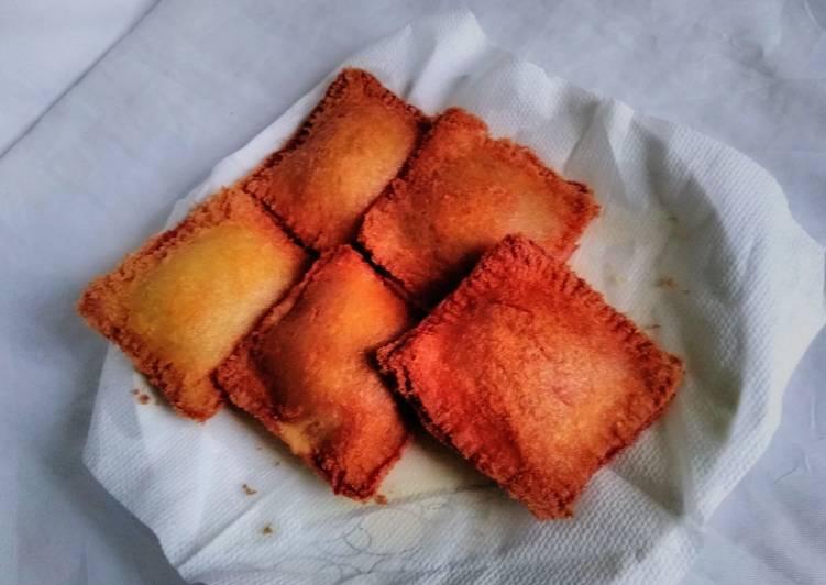 Recipe of Any-night-of-the-week Stuffed bread#Bread pie#themechallenge#breakfast