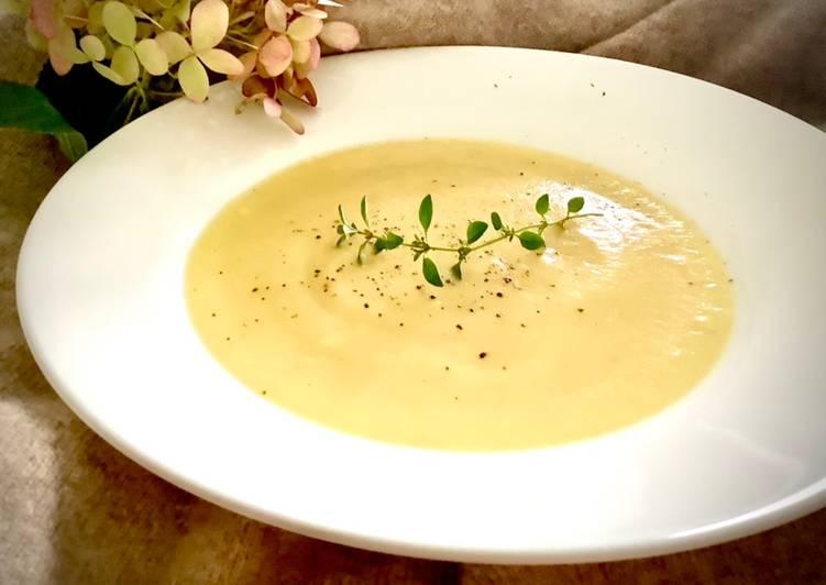 Zupa krem z kalafiora 🌱 główne zdjęcie przepisu