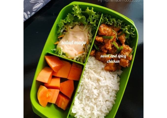 """Bekal Suami """"Sweet and Spicy Chicken"""""""