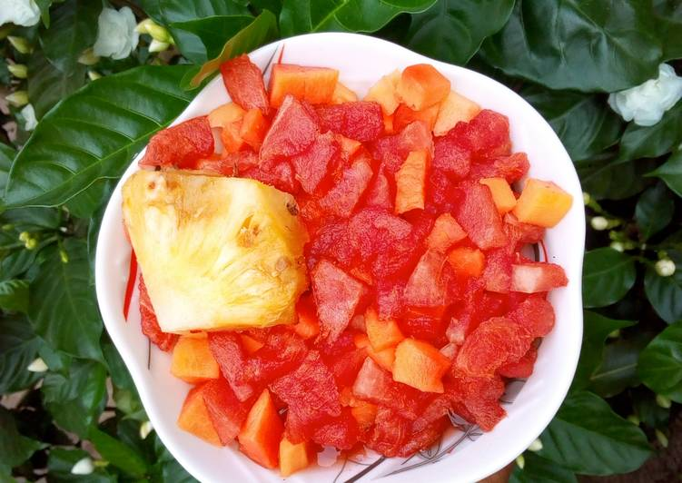 3 Fruits salad