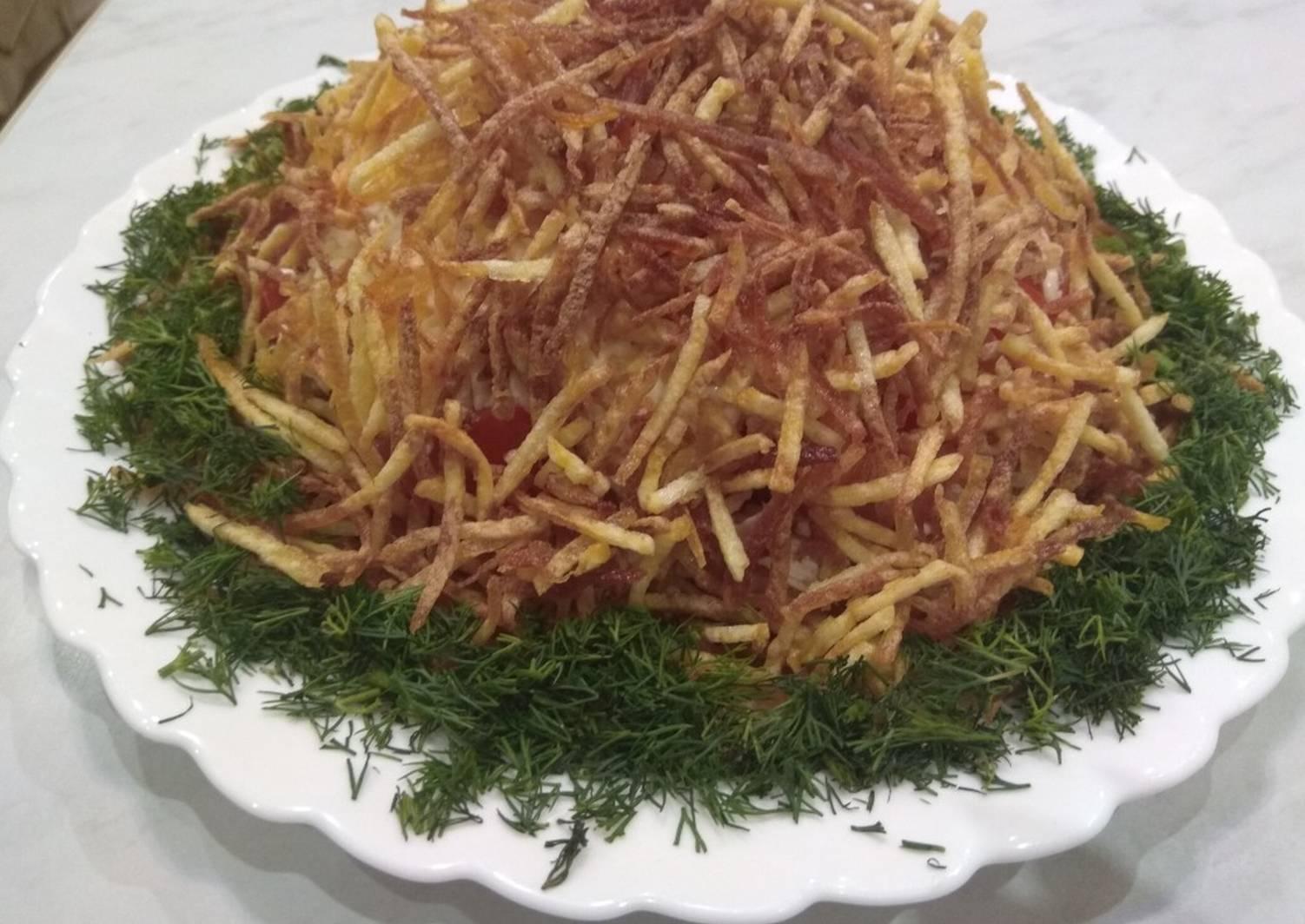 ищете руководство салат горками рецепт с фото пошагово представляет собой