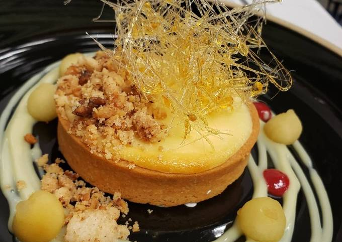 Recipe of Ultimate Chickpea Tart Banana & Cream Cheese Mousse with Peanut Crumble