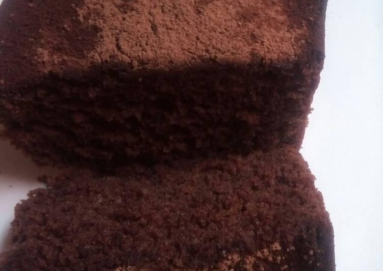 Cake au café noire