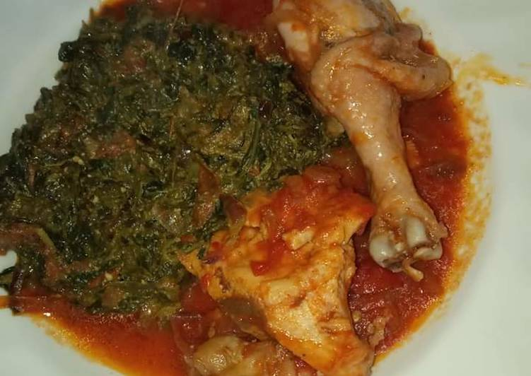 My Grandma Chicken stew