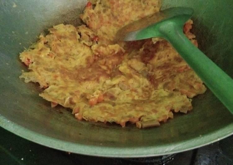 Omlet wortel