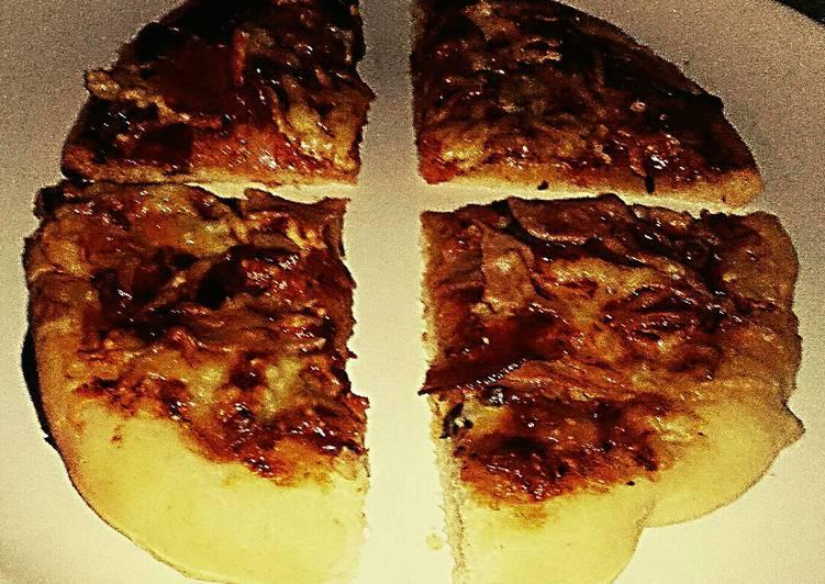 Tex's 2 Pig Pizza 🍅🐷🧀🍕🌿