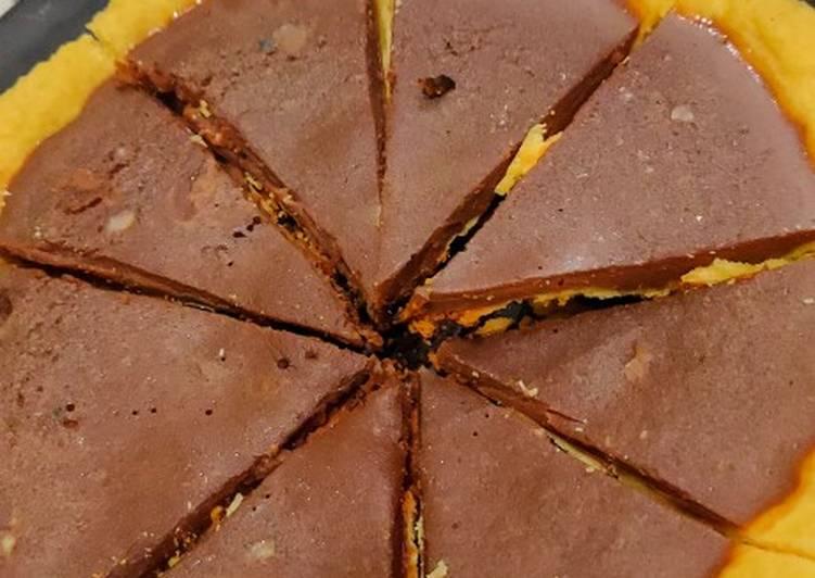 Pie Susu Milo Teflon Sederhana