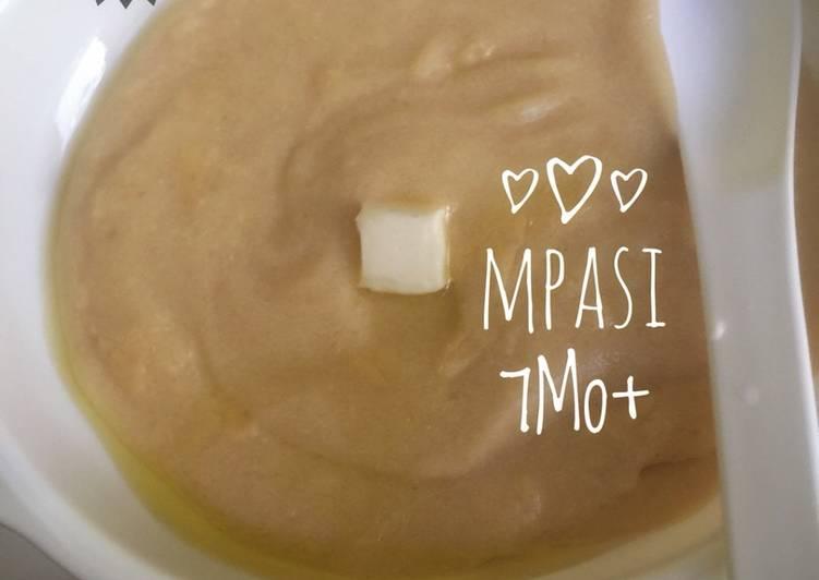 Mpasi 7month (butim potato with chicken)