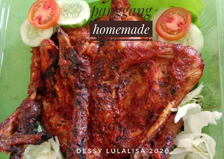 Ayam panggang homemade - cookandrecipe.com