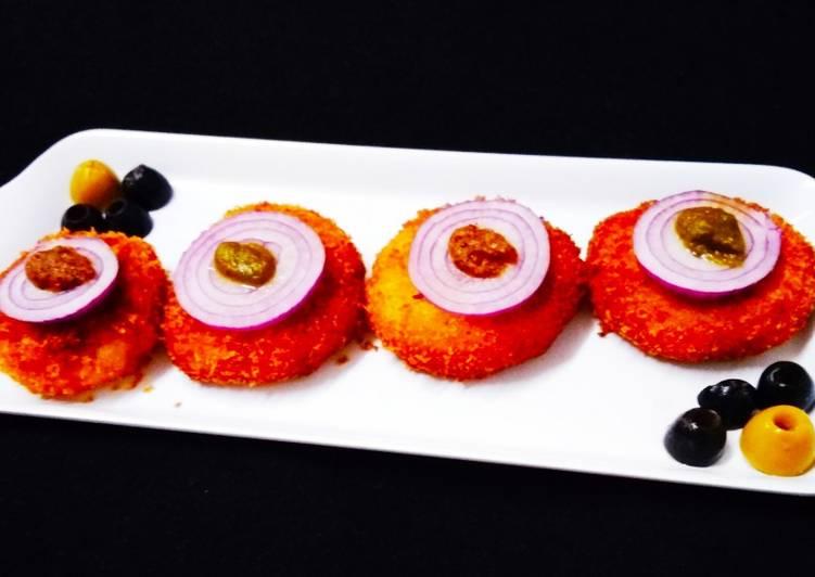 Simple Way to Prepare Homemade Stuffed onion rings