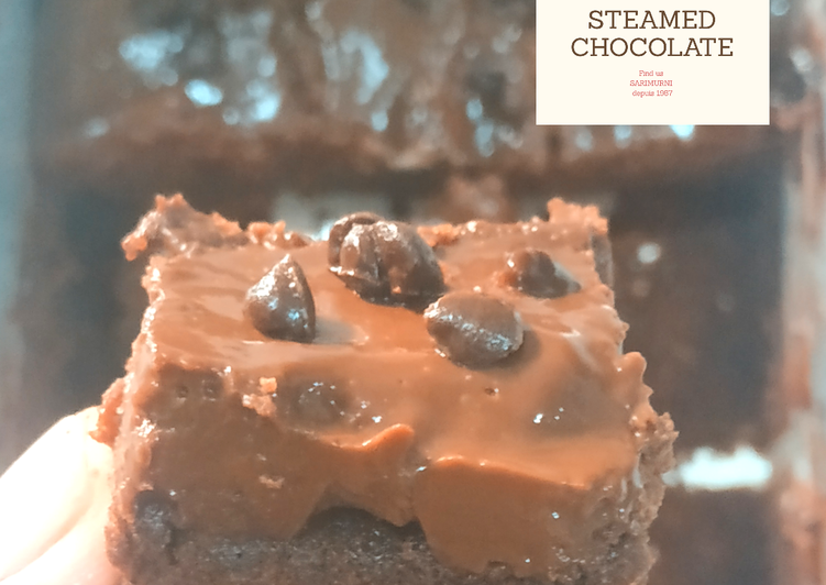 Bagaimana Membuat Steam chocolate lumer, ekonomis hemat telur,tanpa mixer Anti Gagal