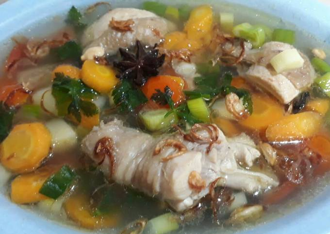 Soup Sehat ala Resto