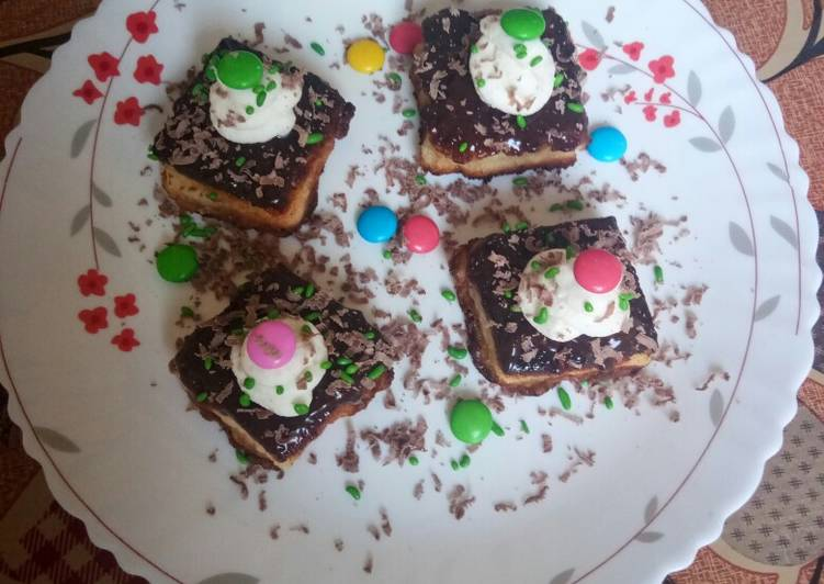 Step-by-Step Guide to Prepare Ultimate Bread chocolate bite