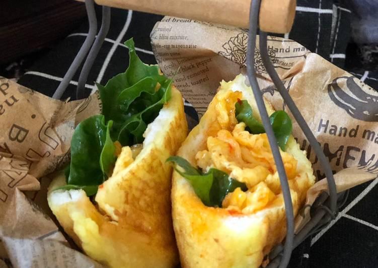 Cara Mudah Masak: Poket Roti Telur  Lazat
