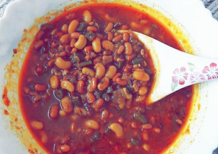 Use Food to Boost Your Mood Punjabi lobia Masala (Green Lobia/Rongi)