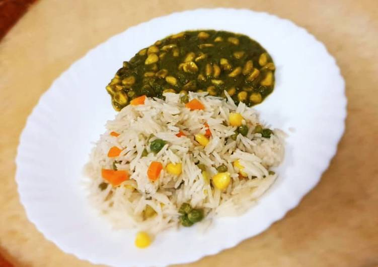 The Best Dinner Easy Love Sweetcorn Green Masala