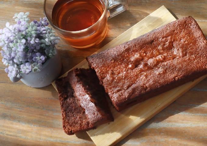Gluten free chocolate pound cake