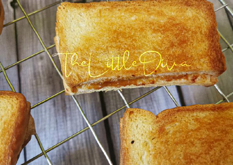 Resepi:  Upside Down Kaya Butter Toast  2021