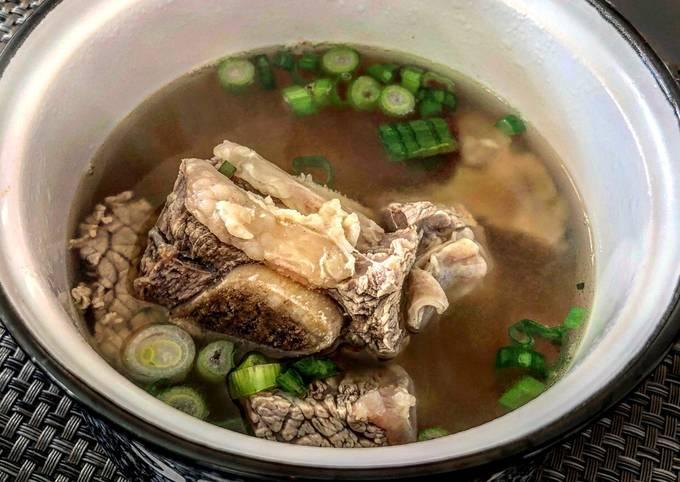 Galbitang - Korean Beef Short Rib Soup