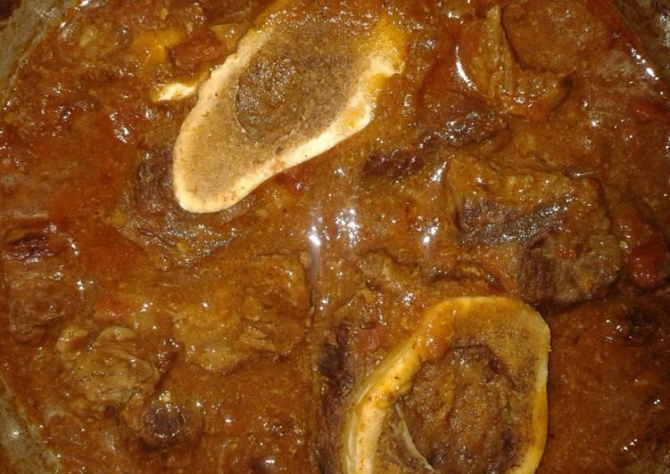 Ossobucco (Cumin Curry)