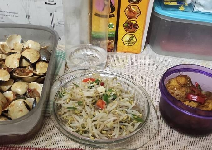 Tumis tauge untuk diet Part 1