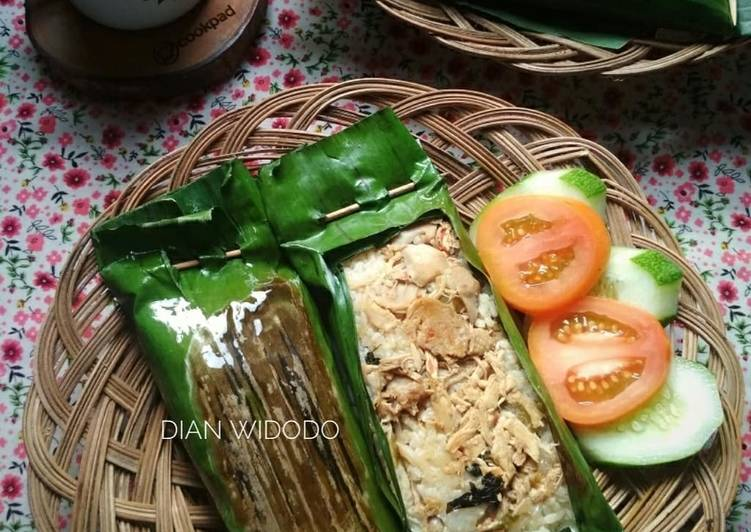 Nasi Bakar Ayam Jamur