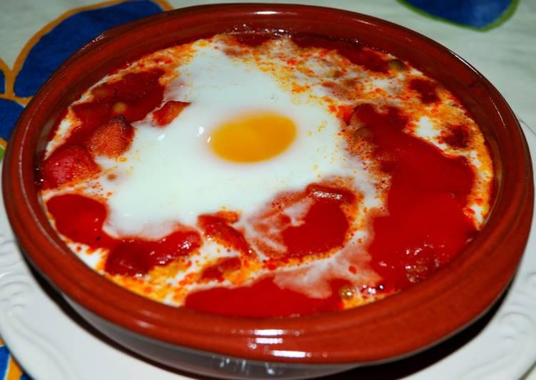 Huevos A La Flamenca Receta De Rafa Borrego Cookpad