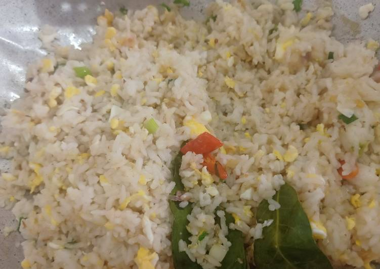 Resep Nasi goreng putih ala hotel Bikin Ngiler