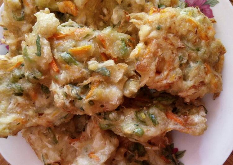 Bakwan sayur simple&crispy