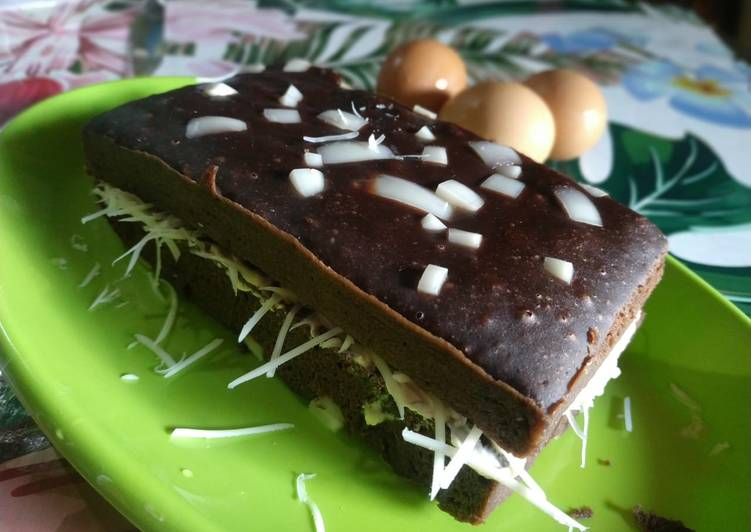 Brownies cokelat kukus no mixer
