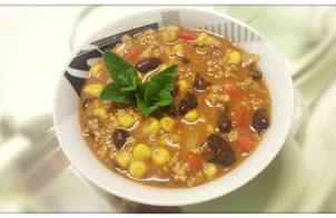 Sốt thịt băm ngô đỗ (Chili Con Carne)