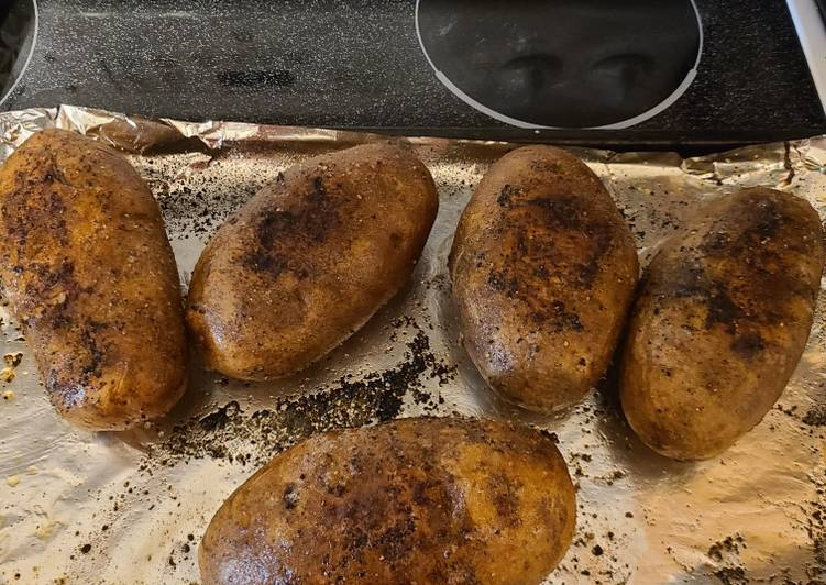 Easiest Way to Cook Perfect Perfectly baked Potatoes